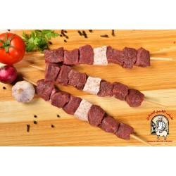 The calf is ready to grill العجل جاهزة للشواء